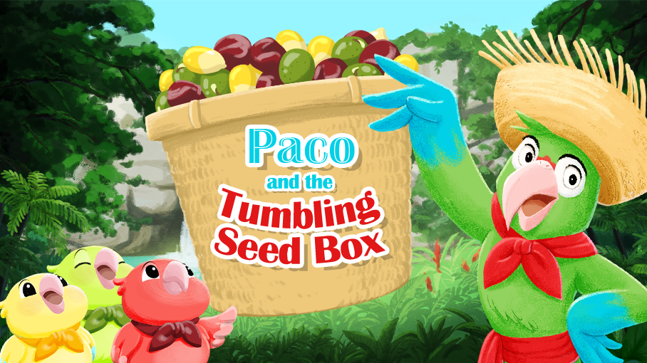 Game: Paco and the Tumbling Seed Box